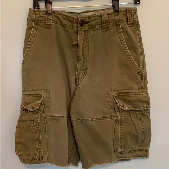 Abercrombie & Fitch Other - Abercrombie olive cargo shorts.